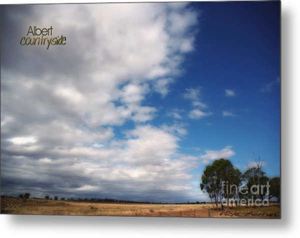 Metal Print featuring the photograph Country Sky by Vicki Ferrari