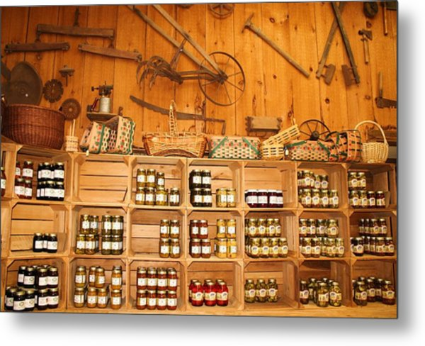 Country Store Metal Print by Paulette Thomas
