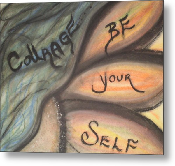 Courage Metal Print by Tracy Fallstrom