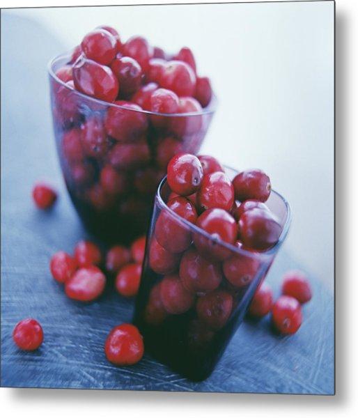 Cranberries Metal Print by David Munns