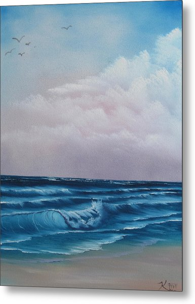 Crashing Wave Metal Print by Kevin Hill