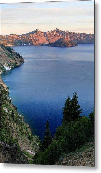 Crater Lake Sunrise Metal Print by Pierre Leclerc Photography