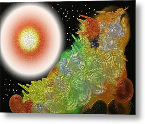 Creation's Beginning  Metal Print