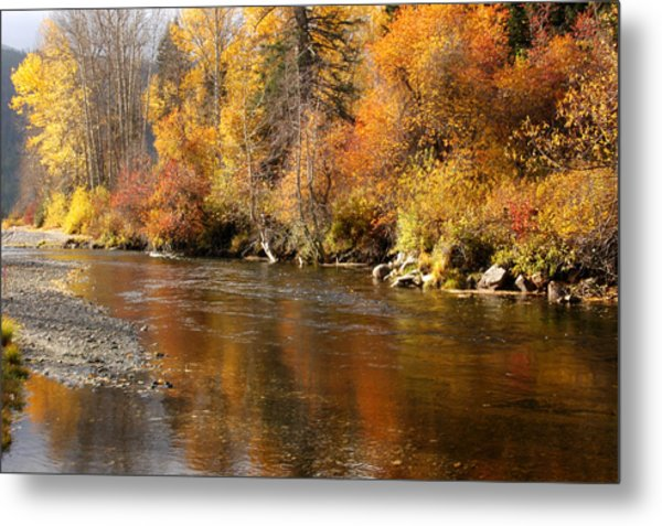 Creek Of Leavenworth Metal Print