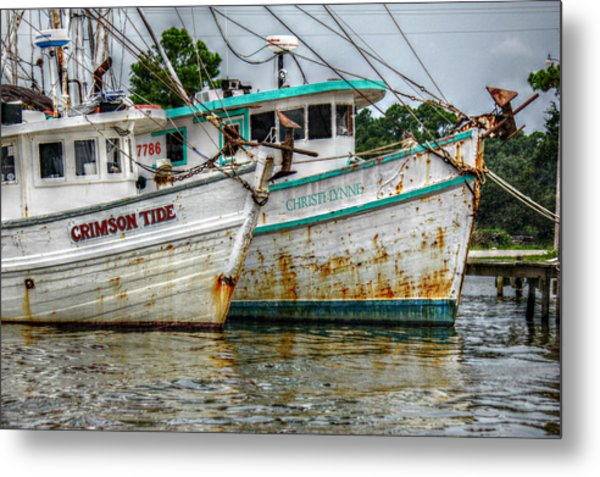 Crimson Tide And Christi Lynne Metal Print