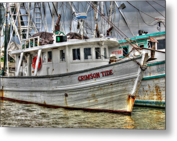 Crimson Tide Metal Print
