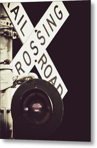 Crossroads Metal Print