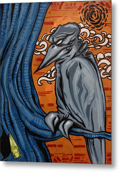 Crows In The Jungle Metal Print by Joshua Dixon