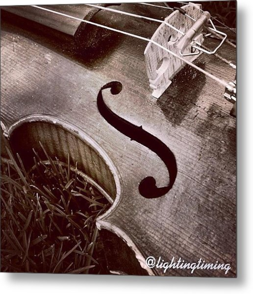 Culture & Texture #violin #classical Metal Print