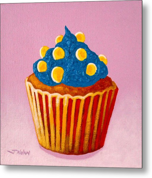 Cupcake  Metal Print by John  Nolan