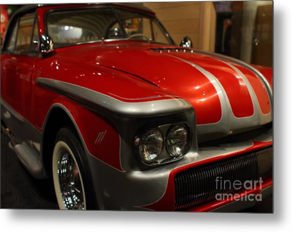 Custom Ford Automobile . 7d13111 Metal Print by Wingsdomain Art and Photography