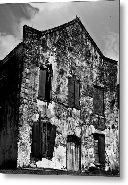 Customs House Metal Print by Michael Ray