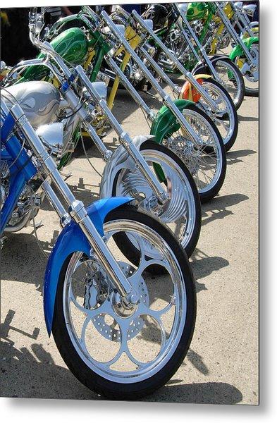 Cycles Metal Print