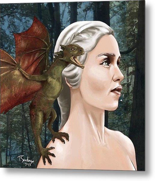 Daenerys Metal Print