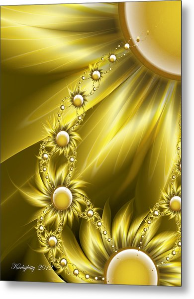 Daisy Sunshine Metal Print