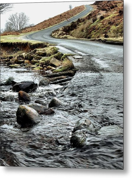 Dalby Forest Ford Metal Print