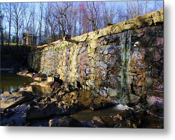 Dam On The River Haw Metal Print