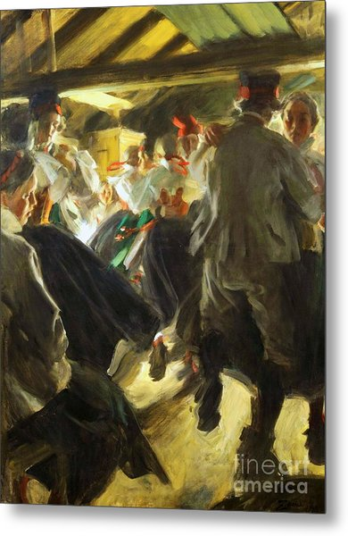 Dance In Gopsmor Metal Print by Pg Reproductions