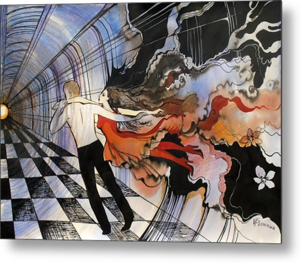 Dance To The End Of Time Metal Print