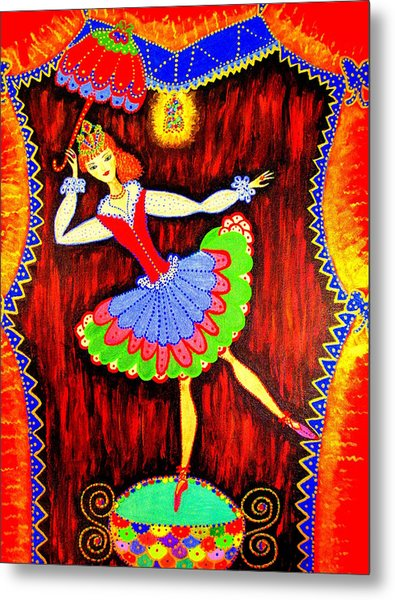 Dancing Doll Metal Print