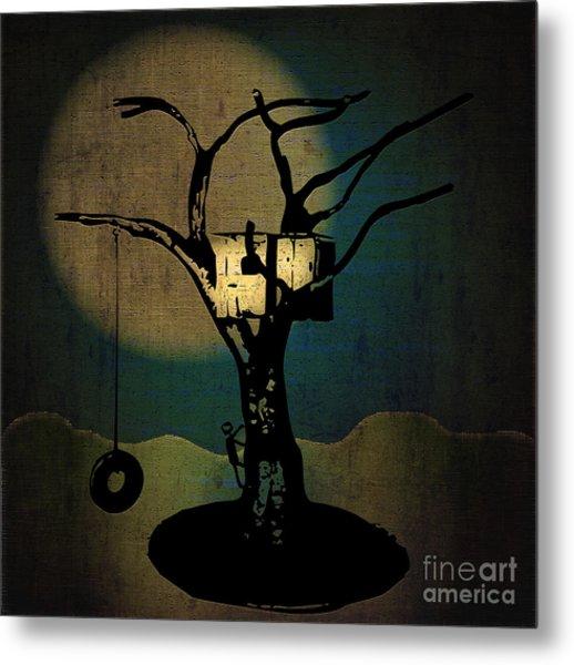 Dans Tree House Metal Print