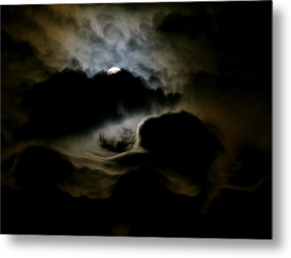 Dark Moon Mystery Metal Print
