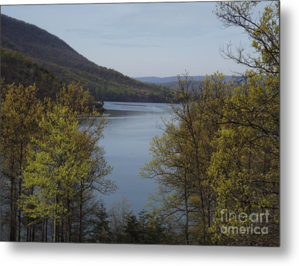 Day At The Lake Metal Print by Chad Thompson