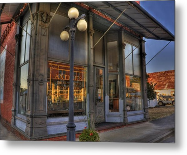 Day Out At The Antique Shop Metal Print by Tyra  OBryant