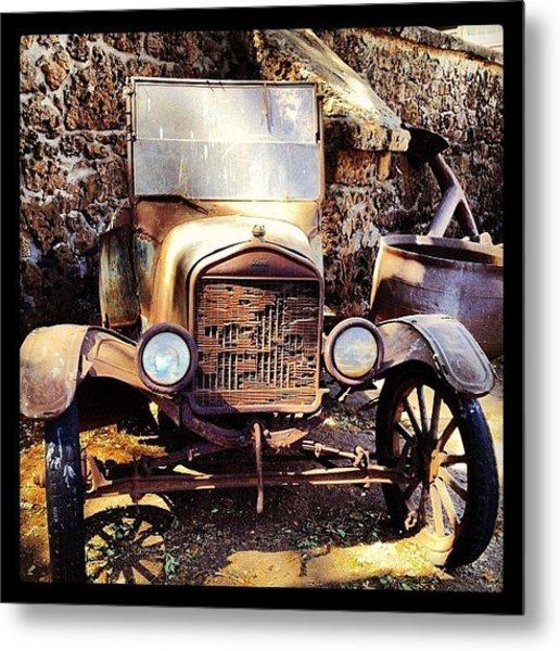 Days Of Old Metal Print