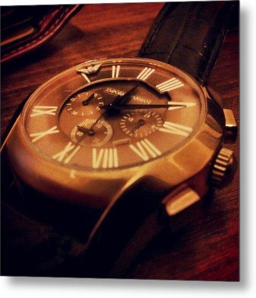 Dead #watch Metal Print