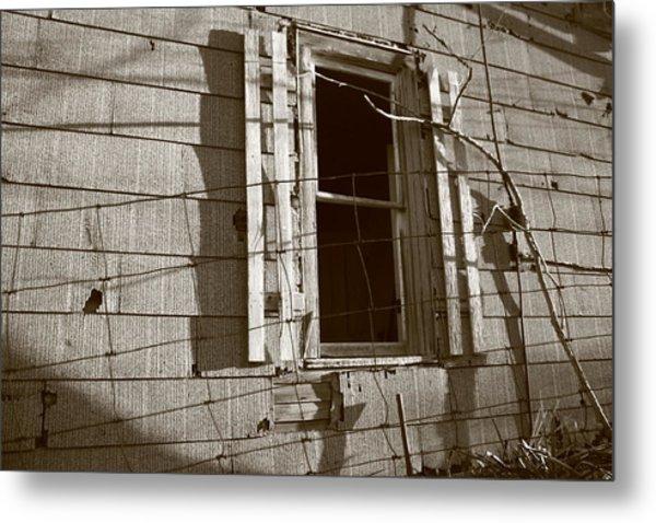 Dead Window Metal Print