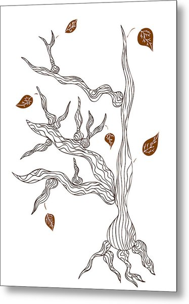 Dead Wood Metal Print by Frank Tschakert