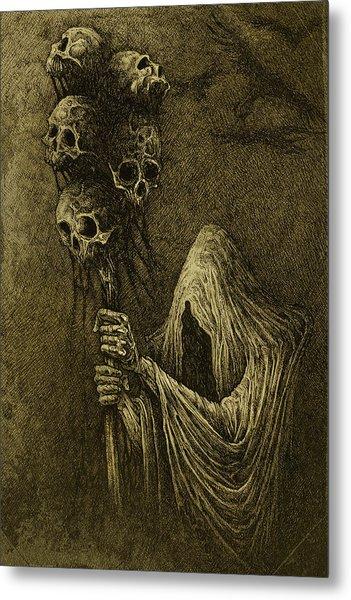Death Metal Print by Maciej Kamuda