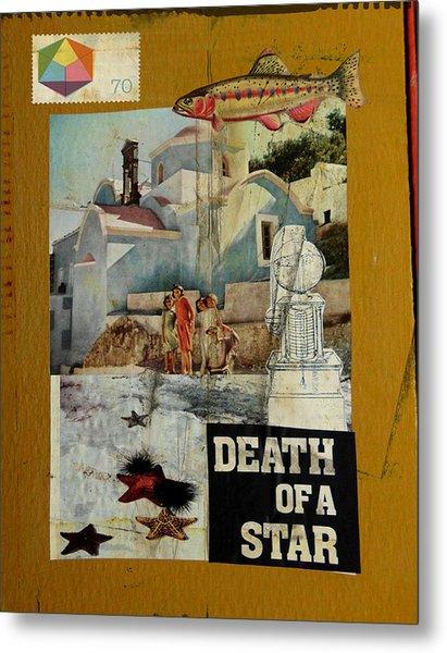 Death Of A Star Metal Print by Adam Kissel