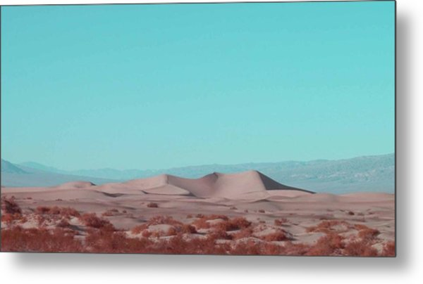 Death Valley Dunes 2 Metal Print