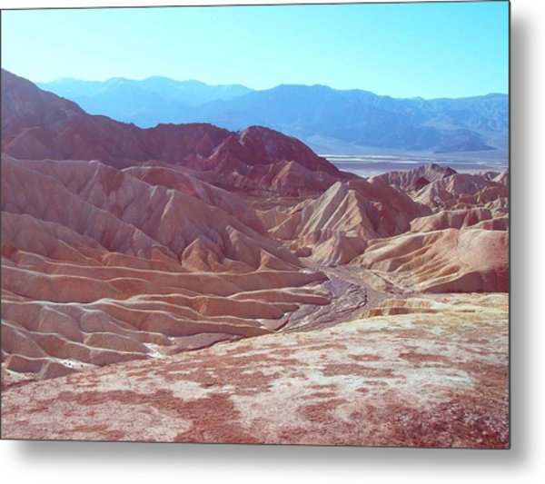 Death Valley Mountains 2 Metal Print