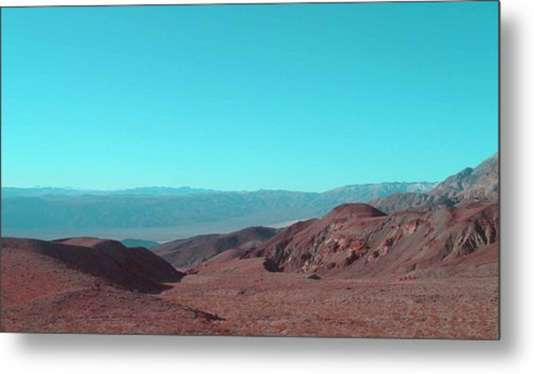 Death Valley View Metal Print