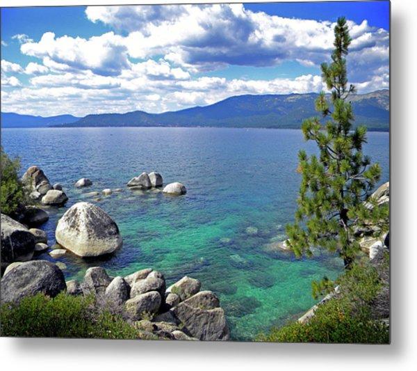 Deep Waters Lake Tahoe Metal Print