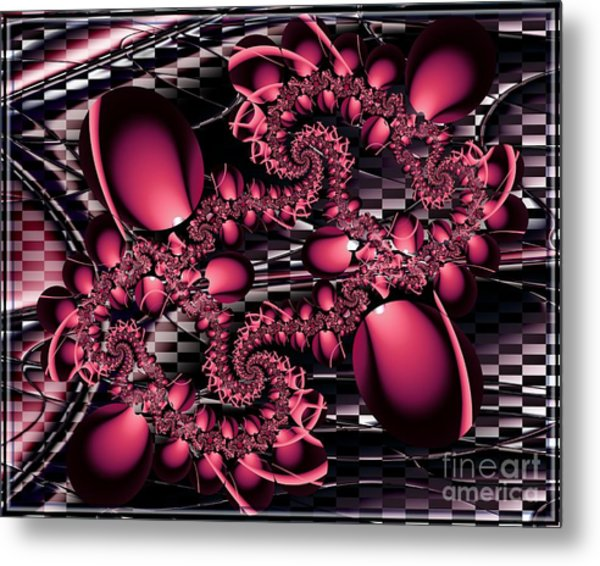 Defining The Abstract Metal Print