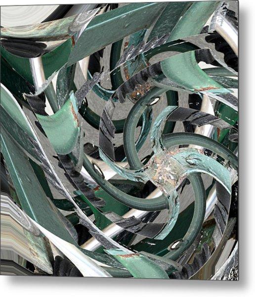Deflector Metal Print
