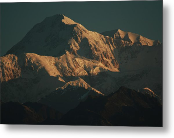 Denali Sunrise Metal Print