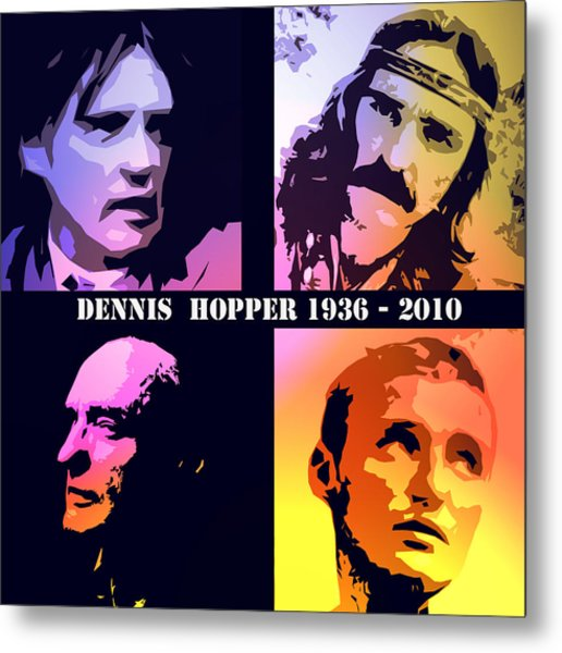 Dennis Hopper Metal Print