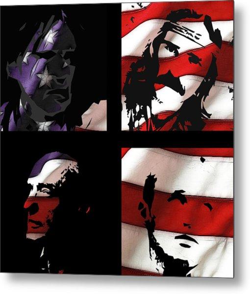 Dennis Hopper Tribute Metal Print