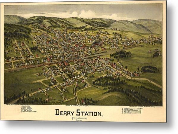 Derry Station Pennsylvania Metal Print by Donna Leach
