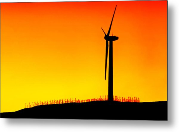 Desert Breezes Metal Print by Donna Pagakis