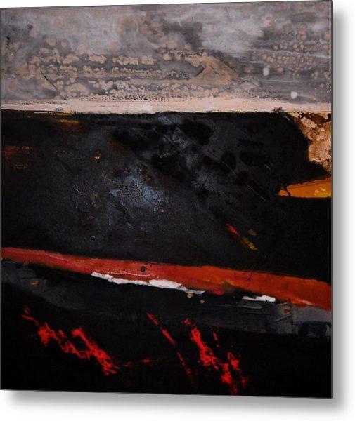 Desert Landscape Metal Print by Mohamed KHASSIF