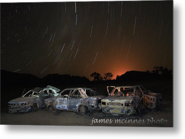 Desert Nights Metal Print by James Mcinnes