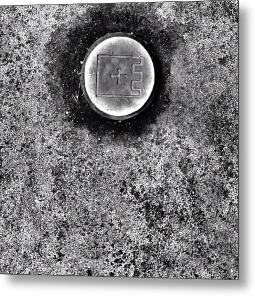 #detail #journey #texture #bnw Metal Print