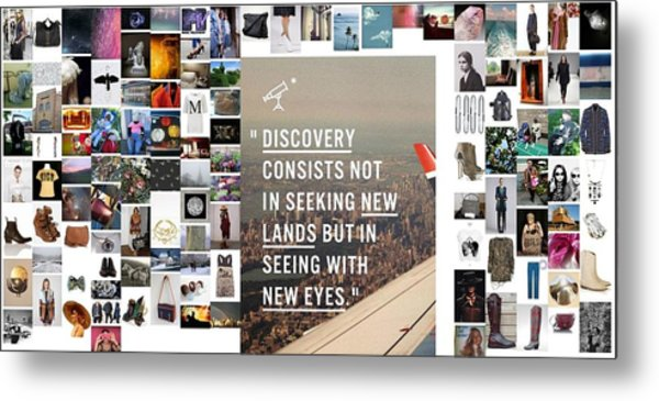 Discovery Is So Metal Print