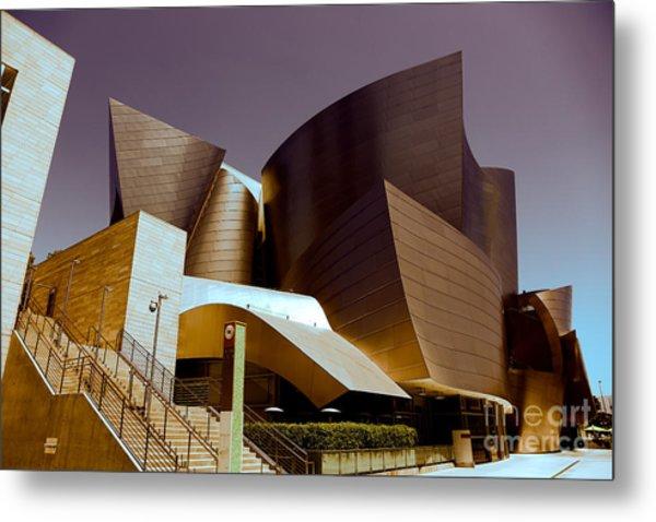 Disney Music Hall I Metal Print